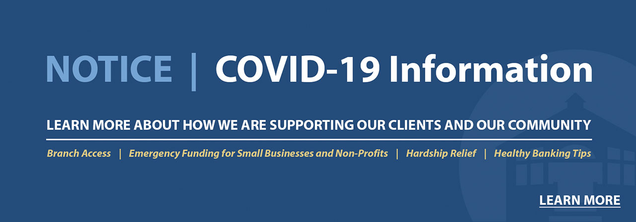 Note: COVID-19 Information. Learn more about how we are supporting our clients and our community.