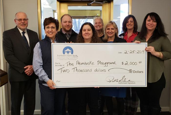 FAIRFIELD COUNTY BANK DONATES $2,000 TO DANBURY ELEMENTARY